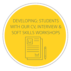 DEVELOPING: STUDENTS WITH OUR CV, INTERVIEW & SOFT SKILLS WORKSHOPS